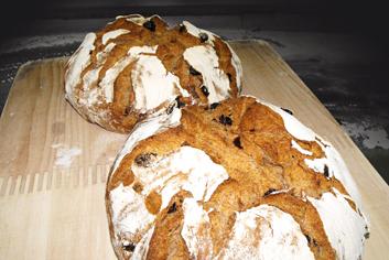 Pan de centeno con pasas - Panadería Moscoso Moure