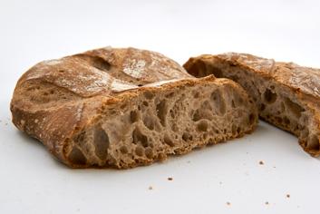 Chapata cortada - Panadería Moscoso Moure