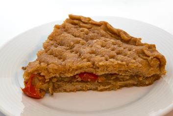 Empanada de maíz (corte) - Panadería Moscoso Moure