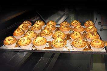 Magdalenas de chocolate - Panadería Moscoso Moure