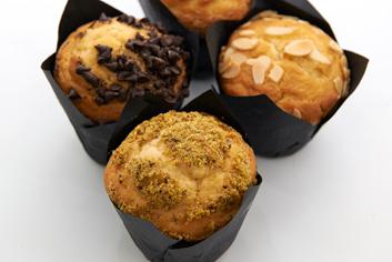 Muffins variados - Panadería Moscoso Moure