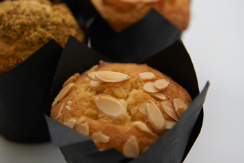 Muffin de almendras - Panadería Moscoso Moure