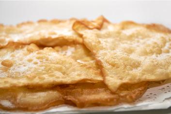 Orejas en detalle - Panadería Moscoso Moure