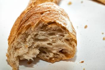 Detalle de pan ao peso - Panadería Moscoso Moure