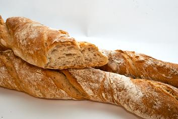 Baguettes ao peso - Panadería Moscoso Moure
