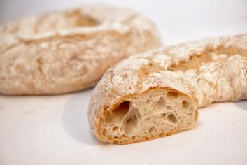 Pan del río cortado - Panadería Moscoso Moure