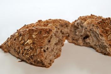 Pan salud multicereales interior - Panadería Moscoso Moure