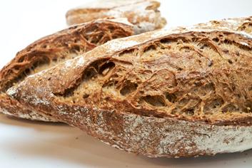Pan de sementes (detalle) - Panadería Moscoso Moure