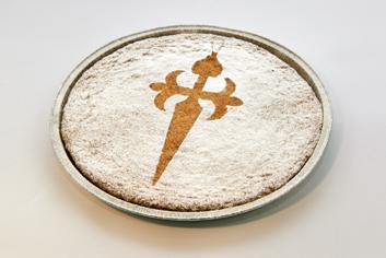 Tarta de Santiago - Panadería Moscoso Moure