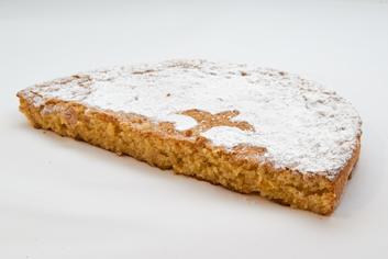 Tarta de Santiago (mitad) - Panadería Moscoso Moure