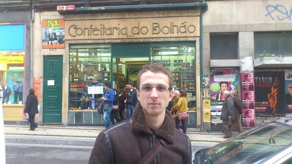 Outra que nos recomendaron, a Confeitaria do Bolháo, enfronte á entrada do coñecido mercado.