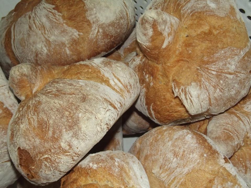 O Molete compostelán, un dos tantos pans típicos de Galicia, na que podemos atopar unha ampla variedade cunha calidade excelente