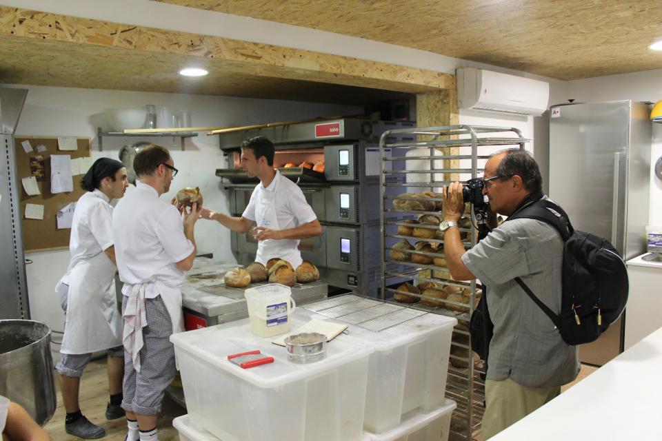 Na experiencia xuntámonos profesionais e afecionados, como Jordi, chegado de Barcelona