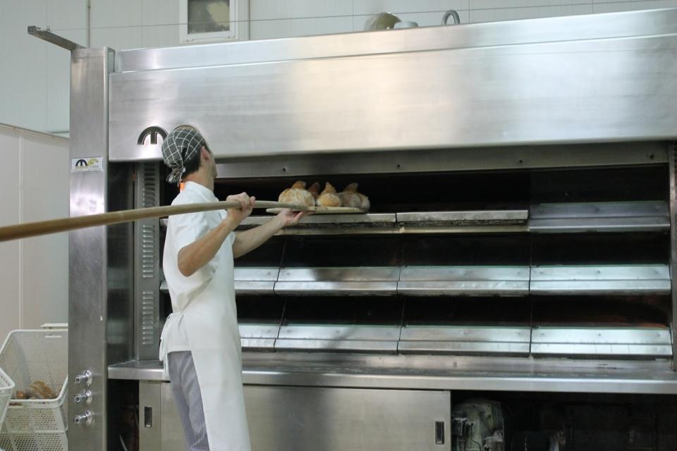 O oficio da panadería.Guillermo Moscoso no obrador familiar