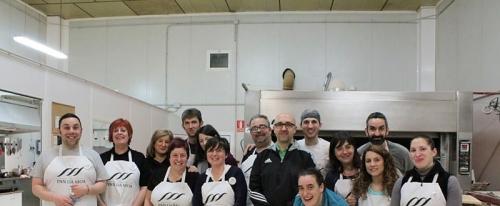 Participantes no I Obradoiro de Empanadas Pan da Moa