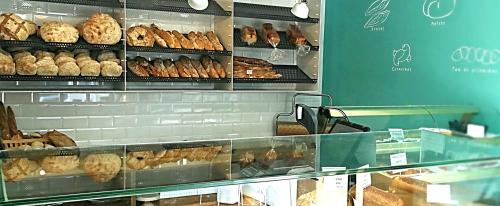 Fotografía de la tienda de Pan da Moa en la rúa do Cubelo