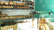Fotografía da tenda de Pan da Moa na rúa do Cubelo